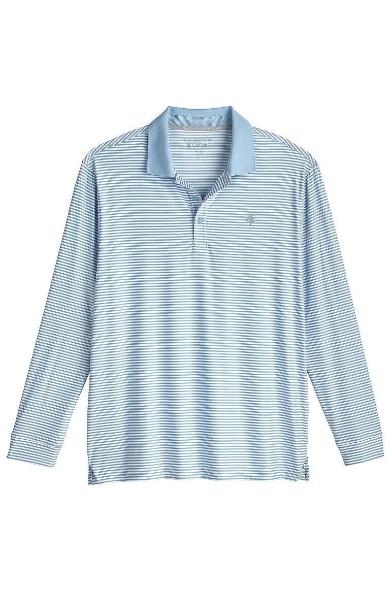 Men's Long Sleeve Erodym Golf Polo UPF 50+
