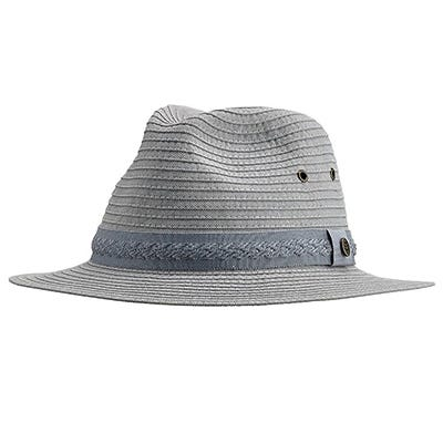 Men's Packable Travel Fedora UPF 50+
