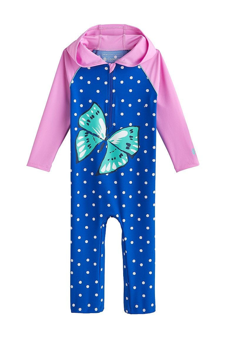 Baby Finn Hooded One-Piece Swimsuit UPF 50+