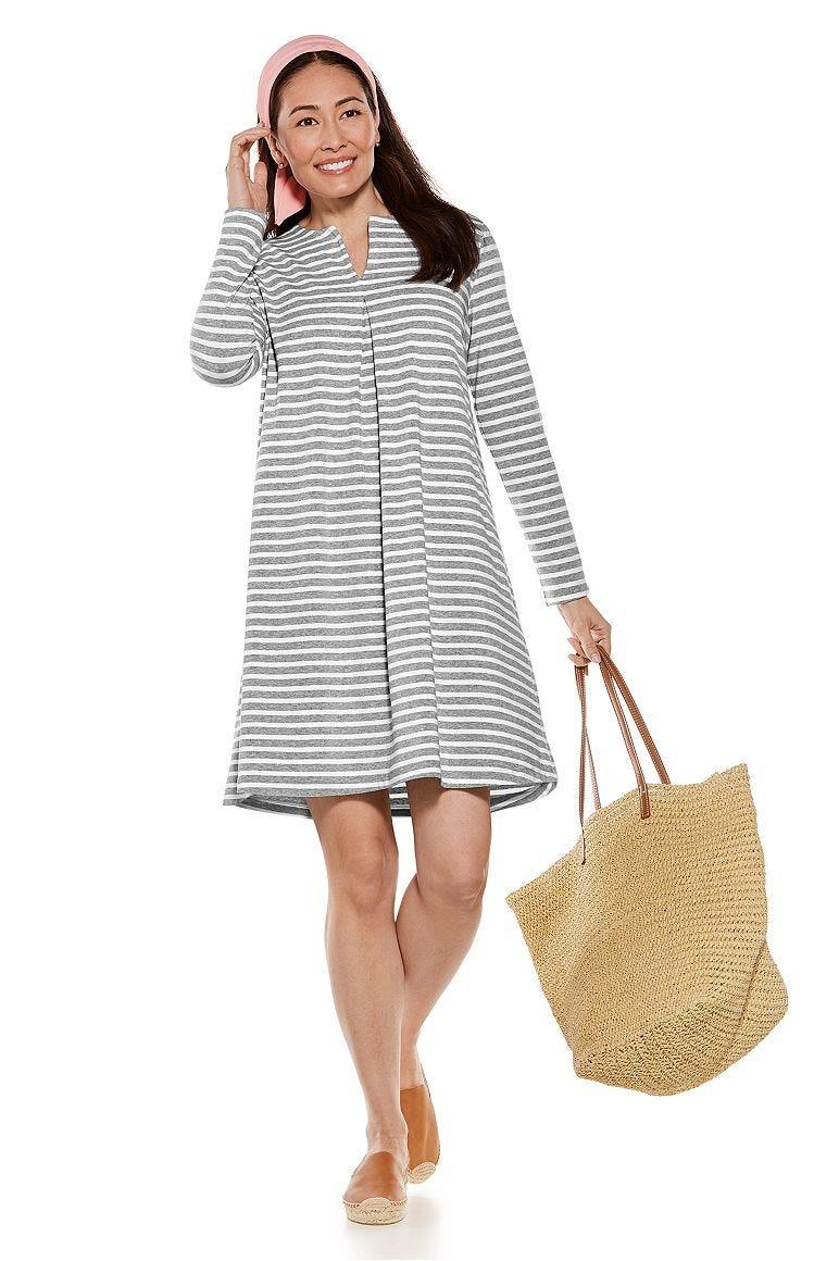 City Walk Tunic Dress & Grassi Sun Bandana Outfit