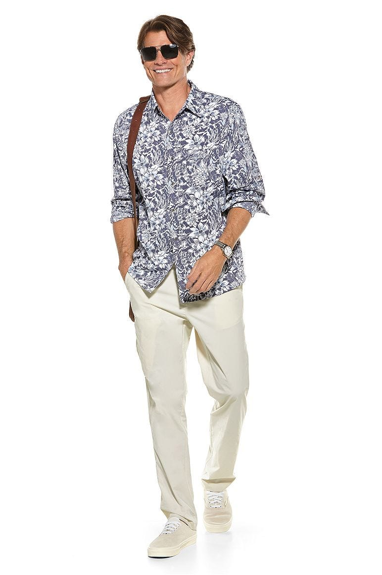 Sun Shirt & Casual Pants Outfit
