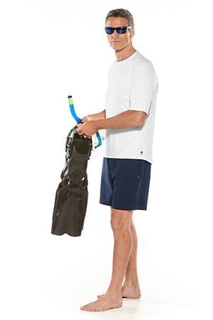 Short Sleeve Ultimate Rash Guard & Tech Swim Trunks Outfit