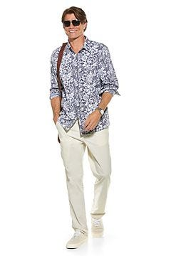 Aricia Sun Shirt & Marco Summer Casual Pants Outfit