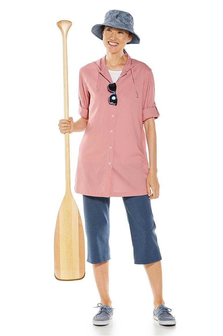 Iztapa Beach Shirt & Windley Beach Capris Outfit