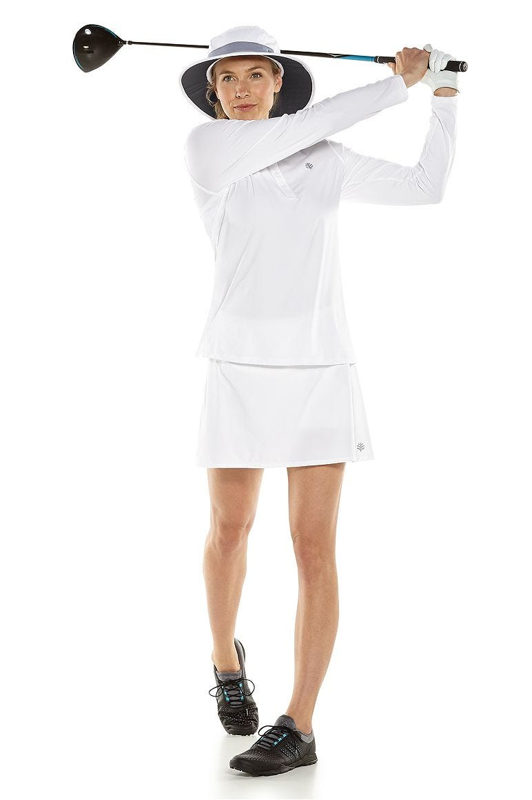 Prestwick Golf Polo & Grand Slam Tennis Skort Outfit
