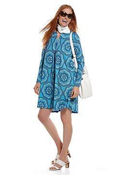 Citywalk Tunic Dress & Grassi Sun Bandana Outfit