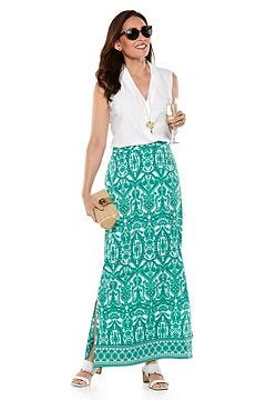 Raval Tunic Tank Top & Monte Carlo Maxi Skirt Outfit
