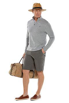 Sonora Quarter-Zip & Trek Hybrid Shorts Outfit