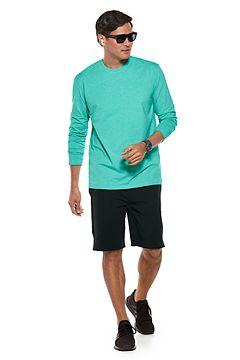 Morada Everyday Long Sleeve T-Shirt & Newport Saturday Lounge Shorts Outfit