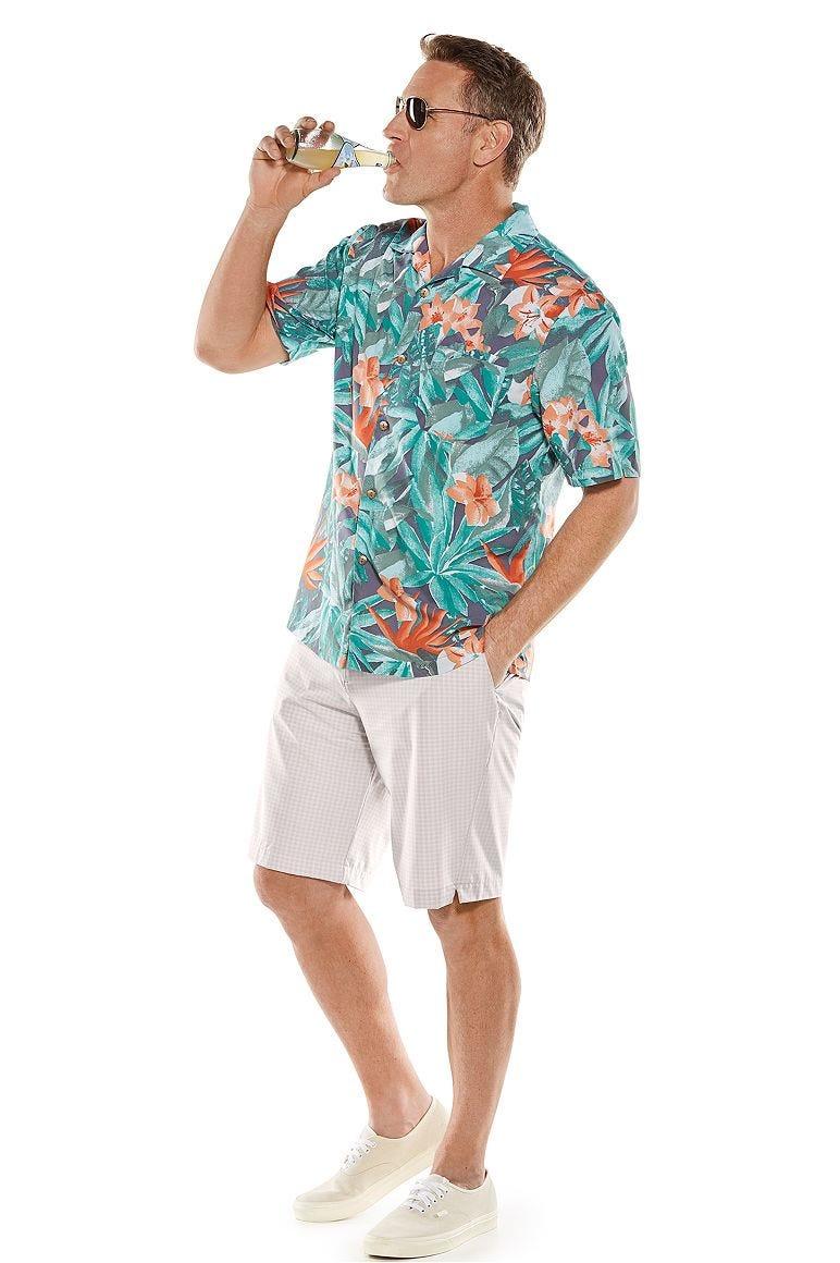 Safari Camp Shirt & Trek Hybrid Shorts Outfit