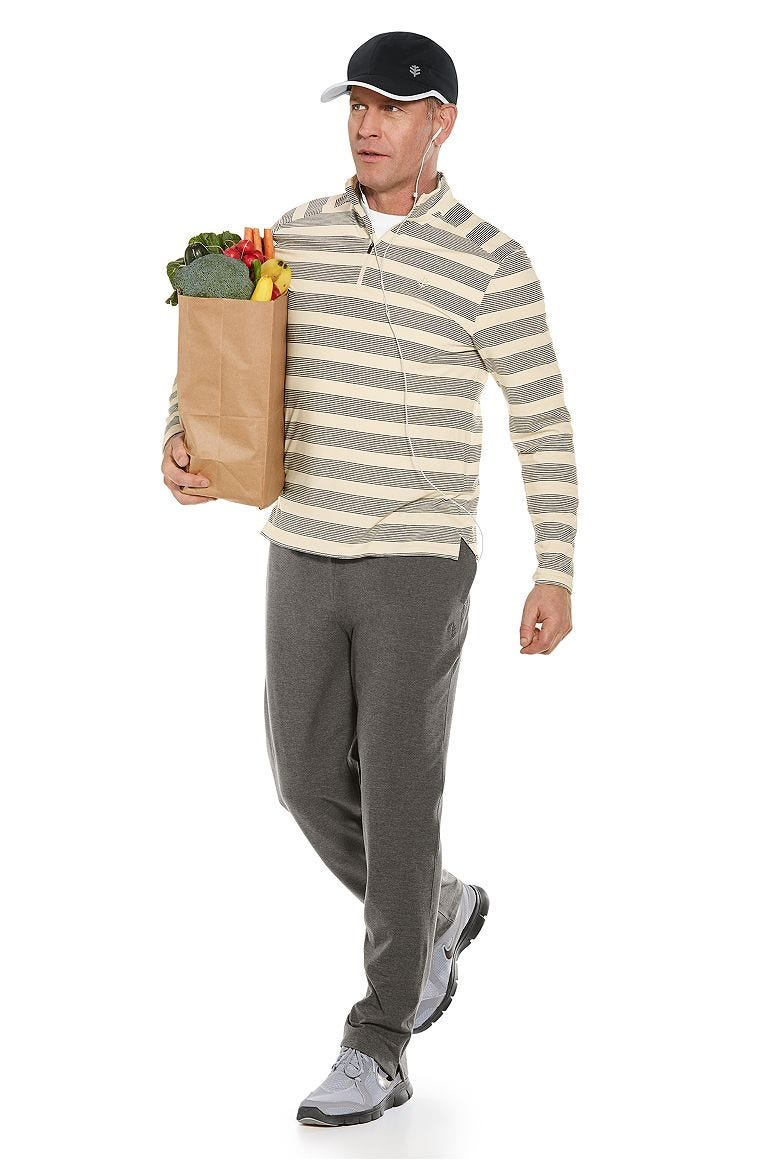 Sonora Quarter-Zip & Saturday Lounge Pants Outfit